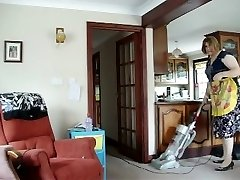 Super-hot MILF SUCKS IT UP ALL OVER THE House