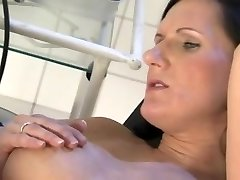 pregnant milf fucked rock-hard by gynecologist