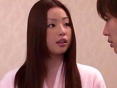 Horny Japanese girl Risa Kasumi in Incredible Rimming JAV flick