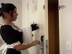 Sativa Rose as a Maid Getting Pounded Hard