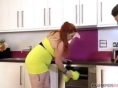 Spanish Plumper Babe Maria Bose is a Lovely Maid
