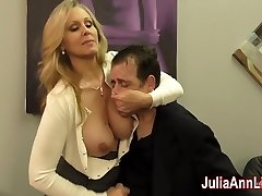 Julia Ann Jacks Stepson before his Rendezvous!