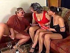 3 ugly women frolicking