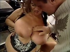 UGLY GRANNY WITH Giant BOOBS Screwed  BY THE MECHANIC 1