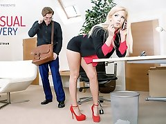 Candee Licious in Sensuous Delivery - OfficeObsession