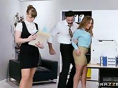 Brazzers - Hot Meaty Tit Office Slut
