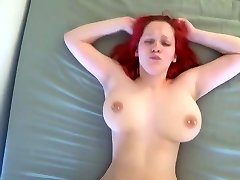 Orgasmic juggling boobs fucked hard by young Beau