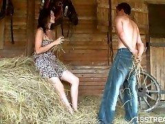 Amateur barn xxx display
