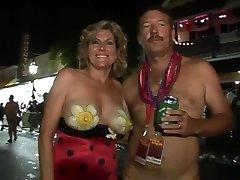 Amazing pornstar in impressive striptease, college adult clip