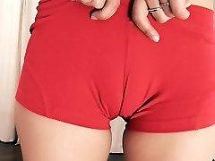 Super-hot Blonde Sporty. Cameltoe, Big-Culo, Big-Tits, Amazing Teen