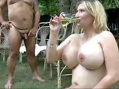 Giant bumpers girls swallow  bunch of piss