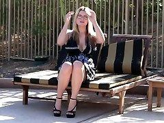 Public Nudity & Upskirt Flick - DanielleFtv