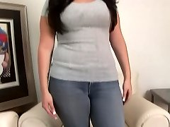 College Cutie with huge funbags gets asked about sex - DreamGirls