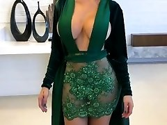 Impressive Latina with Glamour