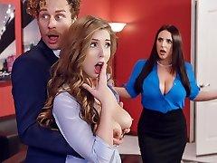 Angela White & Lena Paul & Michael Vegas in Porn Logic - Brazzers