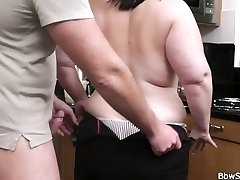Husband caught cheating with fat superslut