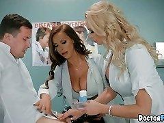 Super-naughty MILF Nurses at the Hospital