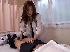 Best Japanese chick Rio Hamasaki in Epic Nurse, Deep Throat JAV movie