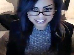 Au top webcam nymph