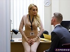 Glorious busty teacher fucked hard in her office