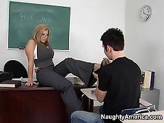 Sara Jay & Danny Wylde in My First Sex Teacher