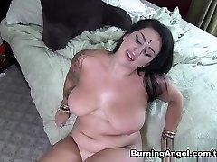 Incredible pornographic stars in Amazing BBW, Pov porn video