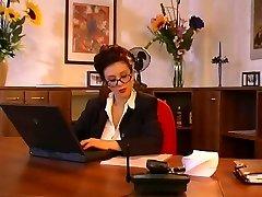 Big tits secretary fucking her boss