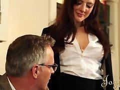 JOYBEAR Sexy Secretary Samantha Bentley rewarded by school principal