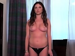 Casting stunner goes home after hardcore sex and booty hole scre