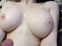 Huge Bosoms on Young Girlfriend