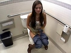 Hook-up In Women's Toilet