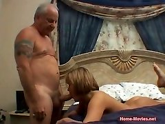 Cuckold Horny Chick Fucked By Old Rich Dude