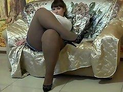Fantastic BBW In Pantyhose