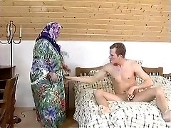 Yam-sized Plus-size GRANNY MAID FUCKED HARDLY IN THE ROOM