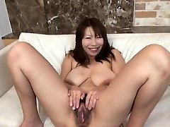 Busty model hottest handjob