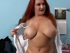 Mature Redhead with Huge Funbags gets Scammed by Doctor