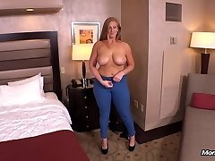 Ginger gets thick butt fucked POV