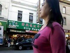 BootyCruise: Chinatown Bus Stop Cam 6 - Milf Web Cam