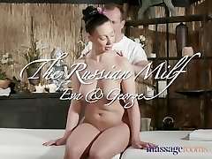Massage Guest Rooms Sexy Russian Milf has multiple orgasms from expert masseur