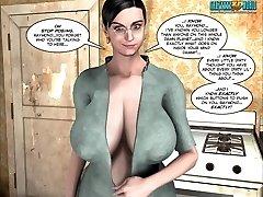 ThreeD Comic: Raymond. Episodes 3-6