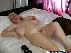 Mature BBW Milking