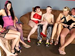 Claudia W & Sexy Jessy & Daniela Advertisement in Inexperienced German Homemade Sex - MMVFilms