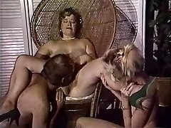 Chubby mom gets her fuckbox fisted by mates