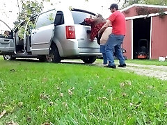 We got caught porking on my dads trail cam