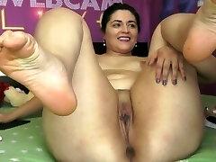 Sexy White Plus-size on Webcam