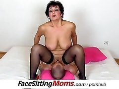 Big natural tits lady Greta with a fellow czech queening