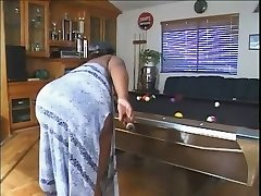 Plus-size On The Pool Table