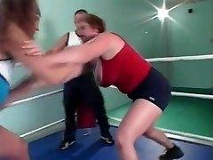 huge-titted wrestling