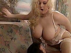 British Bbw Kirsten Halborg rectal fucked face spunked