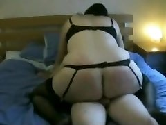 Fat Ass Obese Ex Gf riding my cock